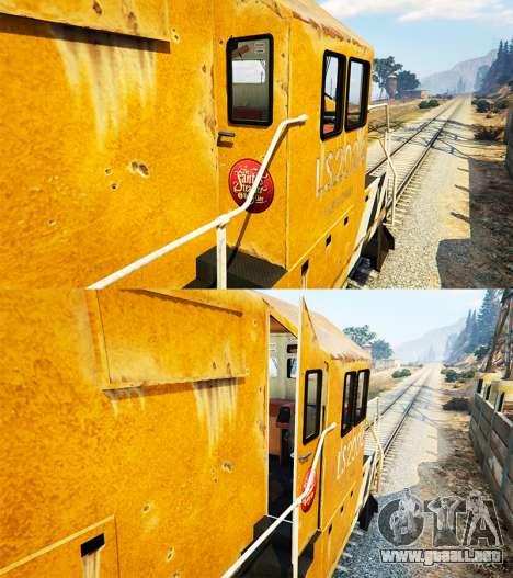 GTA 5 Ingeniero de ferrocarril v3.1 cuarto captura de pantalla