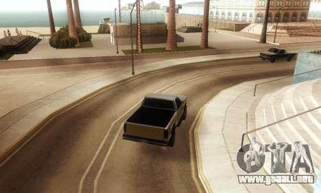 ENB & Colormod v 1.0 para GTA San Andreas sucesivamente de pantalla