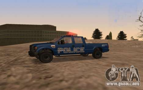 Ford F-250 Incident Response para GTA San Andreas left
