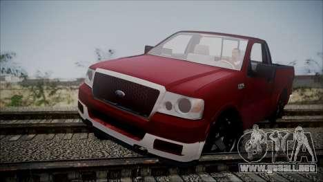 Ford F-150 2005 Single Cab para GTA San Andreas