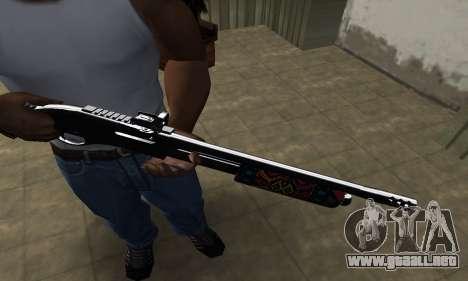 National Shotgun para GTA San Andreas