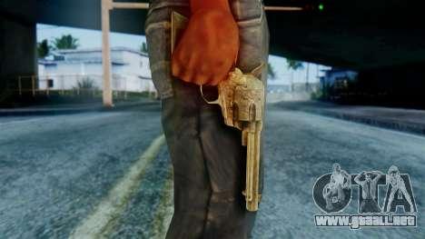 Red Dead Redemption Revolver Diego Assasin para GTA San Andreas tercera pantalla