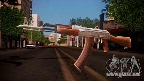 AK-47 v8 from Battlefield Hardline para GTA San Andreas