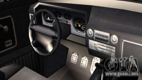 GTA 5 Vapid Slamvan Pickup IVF para la visión correcta GTA San Andreas