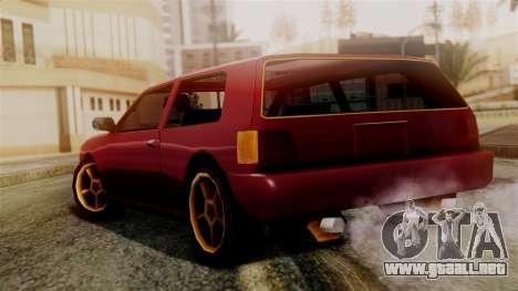 Flash New Edition para GTA San Andreas left