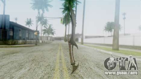 Deadric Dagger para GTA San Andreas segunda pantalla