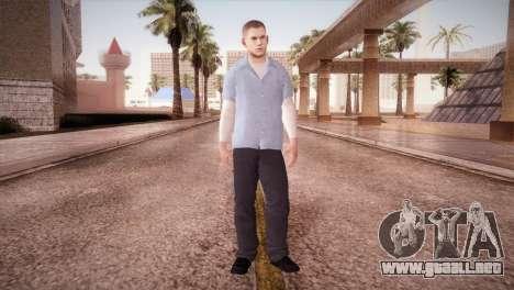 Michael Scofield Prisión formulario para GTA San Andreas segunda pantalla
