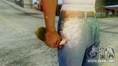 Red Dead Redemption Molotov para GTA San Andreas segunda pantalla
