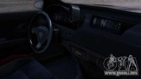Benefactor Schwartzer Racecar para la visión correcta GTA San Andreas