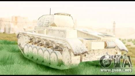 Panzerkampwagen II Desert para GTA San Andreas left