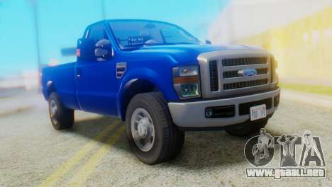 Ford F-350 Super Duty Regular Cab 2008 HQLM para GTA San Andreas
