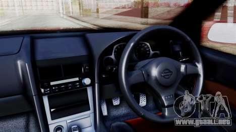 Nissan Skyline ER34 para la visión correcta GTA San Andreas