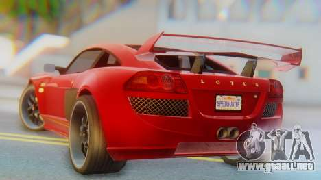 Lotus Europe S Wide para GTA San Andreas left