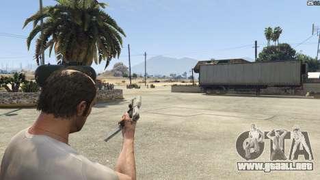 GTA 5 Halo UNSC: Magnum sexta captura de pantalla