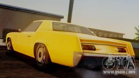 GTA 5 Albany Virgo IVF para GTA San Andreas left