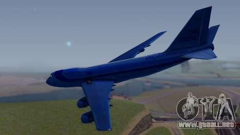 AT-400 Argentina Airlines para GTA San Andreas left