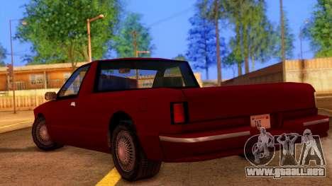 Premier Pickup para GTA San Andreas left