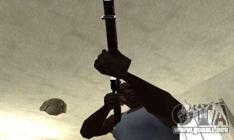 Snake Rifle para GTA San Andreas segunda pantalla