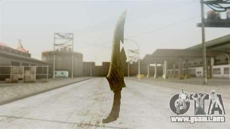 Elven Dagger para GTA San Andreas