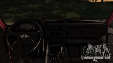 VAZ 2121 Niva Stoke para GTA San Andreas vista hacia atrás