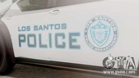 Hunter Citizen from Burnout Paradise Police LS para la visión correcta GTA San Andreas