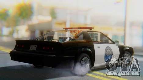 Buffalo Sheriff para GTA San Andreas left
