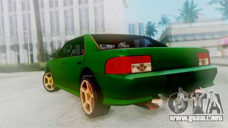 Sultan New Edition para GTA San Andreas left