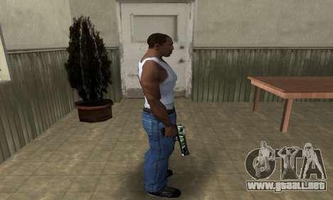 Ben Ten Deagle para GTA San Andreas tercera pantalla
