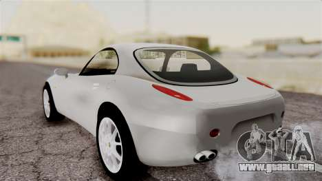 Alfa Romeo Nuvola para GTA San Andreas vista posterior izquierda