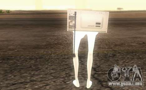 Microwave from Goat MMO para GTA San Andreas tercera pantalla
