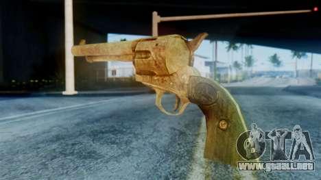 Red Dead Redemption Revolver para GTA San Andreas segunda pantalla