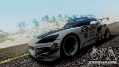 Honda S2000 Tuned Mugi Itasha para GTA San Andreas left