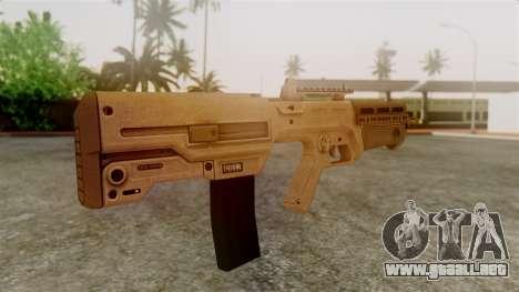 GTA 5 Advanced Rifle para GTA San Andreas segunda pantalla