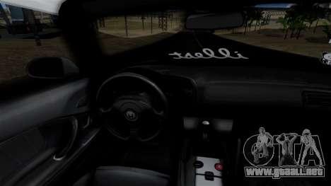 Honda S2000 Tuned Mugi Itasha para GTA San Andreas vista hacia atrás