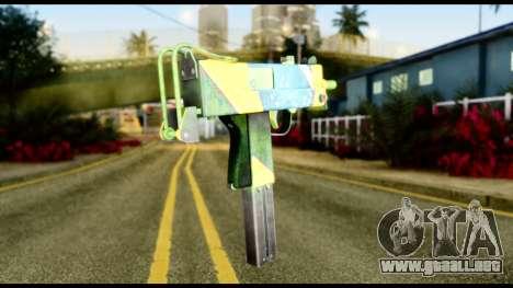 Brasileiro Micro Uzi para GTA San Andreas segunda pantalla