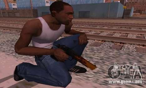 Deagle Flame para GTA San Andreas tercera pantalla