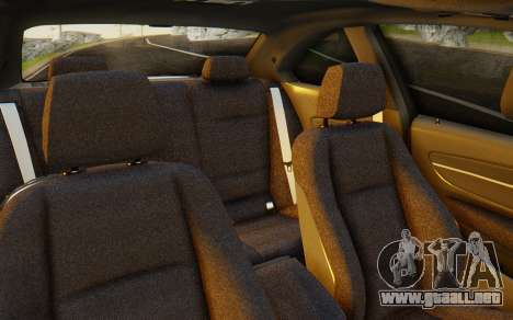 BMW 1M E82 para visión interna GTA San Andreas