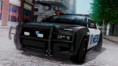 Hunter Citizen Police LV IVF para GTA San Andreas