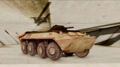 БТР-70 Óxido de S. T. A. L. K. E. R. para GTA San Andreas