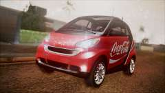 Smart ForTwo Coca-Cola Worker