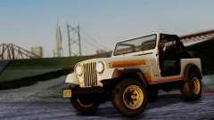 Jeep CJ-7 Renegade 1982 para GTA San Andreas