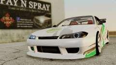Nissan Silvia S15 24AUTORU para GTA San Andreas