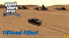 Offroad Effect para GTA San Andreas