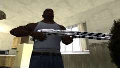 Black Lines Shotgun para GTA San Andreas