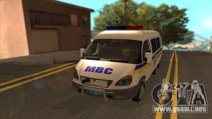 GAZelle 2705 Buscaminas Ucrania para GTA San Andreas