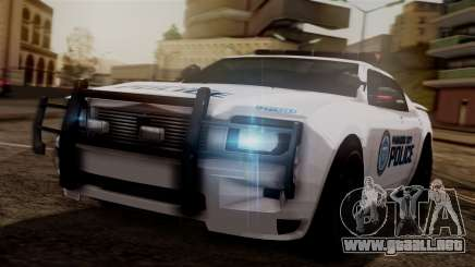 Hunter Citizen from Burnout Paradise v3 para GTA San Andreas