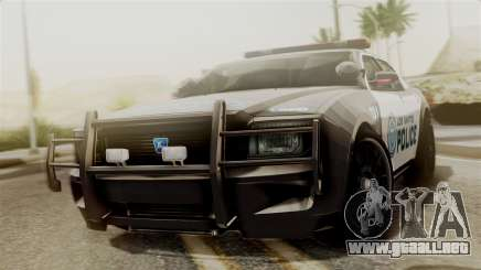 Hunter Citizen from Burnout Paradise Police LS para GTA San Andreas
