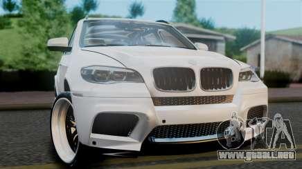 BMW X5M 2014 E-Tuning para GTA San Andreas