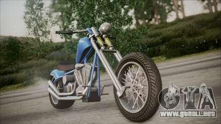 LCC Hexer GTA 5 HQLM para GTA San Andreas