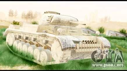 Panzerkampwagen II Desert para GTA San Andreas